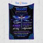 Custom Quilt Blanket To My Mom Blanket - Gift For Mom #69914