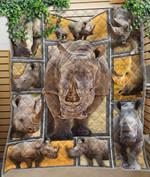Custom Blanket Rhino Blanket - Quilt Blanket