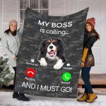 Customs Blanket Cavalier King Charles Spaniel Dog Blanket - Fleece Blanket