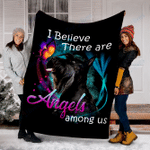 Customs Blanket Scottish Terrier Angels Among Us Classic Dog Blanket - Fleece Blanket
