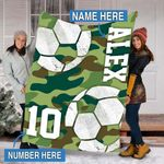 Custom Blankets Soccer Personalized Blanket 5 - Fleece Blanket