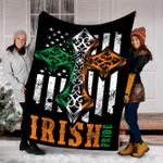 Customs Blanket St. Patrick's Day Irish Pride Blanket - Fleece Blanket
