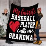 Custom Blanket Baseball Blanket - Fleece Blanket #10933