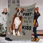 Custom Blanket Boxer Dog Blanket - Fleece Blanket #94433