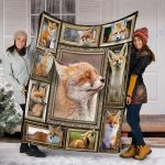 Customs Blanket FOX Blanket - Fleece Blanket