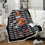 Custom Blankets Football Personalized Blanket 10 - Fleece Blanket