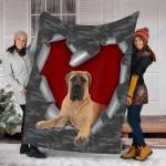 Customs Blanket Bullmastiff Dog Blanket - Fleece Blanket #77866
