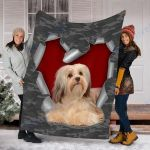 Customs Blanket Havanese Dog Blanket - Fleece Blanket #31508