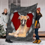 Customs Blanket Whippet Dog Blanket - Fleece Blanket #38009