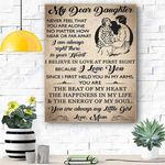My Dream Dauther Canvas Prints Wall Art - Matte Canvas