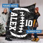Custom Blankets Football Personalized Blanket  - Sherpa Blanket #64868