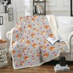 Custom Blankets Pembroke Welsh Corgi Dog Blanket - Fleece Blanket
