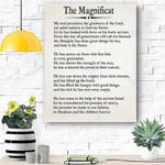 The Magnificat Canvas Print Wall Art - Matte Canvas