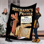 Custom Blankets Mechanic's Prayer Blanket - Fleece Blanket