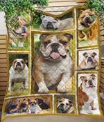 Custom Blanket Bulldog 3D Blanket - Quilt Blanket