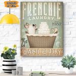Frenchie Dog Canvas Prints Wall Art - Matte Canvas #76789