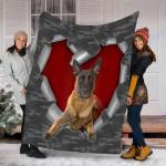 Customs Blanket Malinois Dog Blanket - Fleece Blanket