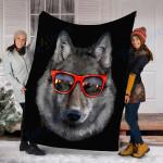 Customs Blanket Wolves Blanket - Perfect Gift For Son - Fleece Blanket