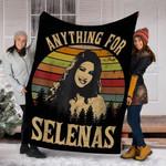 Custom Blanket Anything For Selenas Gift Blanket - Fleece Blanket