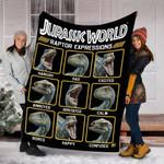 Custom Blanket Jurassic World Blanket - Fleece Blanket #10917