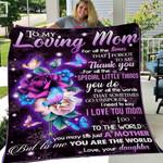 DAUGHTER TO MOM 4 - Fleece Blanket #84168
