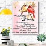 In Loving Memory Canvas Print Wall Art - Matte Canvas