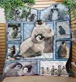 Custom Blanket Penguin Quilt Blanket - Quilt Blanket