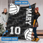 Custom Blankets Volleyball Personalized Blanket - Fleece Blanket #14574