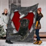 Customs Blanket Pug Dog Blanket - Fleece Blanket #19806