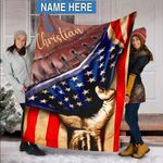 Custom Blankets FOOTBALL Personalized Blanket - Fleece Blanket #50971
