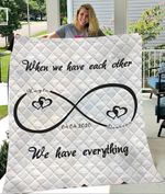 Custom Blankets Personalized Mr And Mrs Blanket - Quilt Blanket