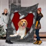 Customs Blanket Beagle Dog Blanket - Fleece Blanket