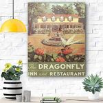 Dragonfly Canvas Print Wall Art - Matte Canvas