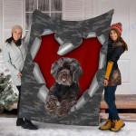 Customs Blanket Schnoodle Dog Blanket - Fleece Blanket