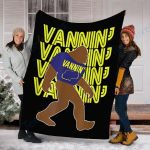 Customs Blanket Bigfoot VANNIN' Blanket - Fleece Blanket