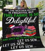 Custom Blankets Christmas Quilter Blanket - Fleece Blanket #55747