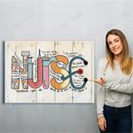 Nurse Canvas Print Wall Art - Matte Canvas #35789