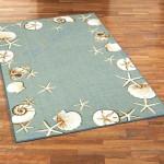 Custom Areas Rug Seashell Rug - Gift For Family