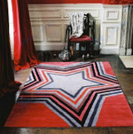 Custom Areas Rug Star Rug - Gift For Family