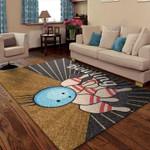 Custom Areas Rug Bowling Ball Rug - Gift For Family