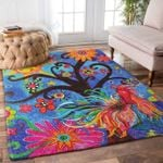 Custom Areas Rug Tree Of Life Rooster Rug - Gift For Family