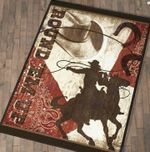 Custom Areas Rug Cowboy Rug - Gift For Family