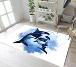Custom Areas Rug Dolphin Rug - Gift For Family