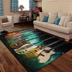 Custom Areas Rug Guitar Rug - Gift For Family
