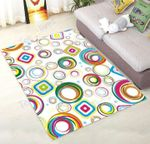 Custom Areas Rug Irregular Graph Rug - Gift For Family
