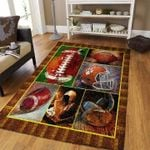 Custom Areas Rug American Football Rug - Gift For Family