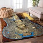 Custom Areas Rug Guitar Rug - Gift For Family #77814