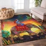 Custom Areas Rug Elephant Rug - Gift For Family