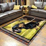 Custom Areas Rug Dachshund Here You Come Again Rug - Gift For Family