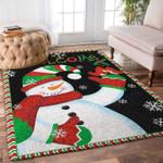 Custom Areas Rug Snowman Rug - Gift For Family